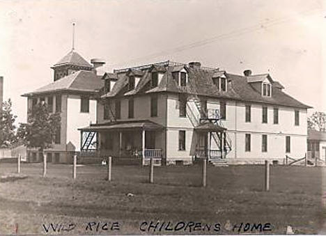 Wild Rice Children's Home, Twin Valley Minnesota, 1910's