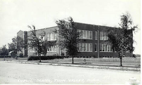 High School, Twin Valley Minnesota, 1930's?
