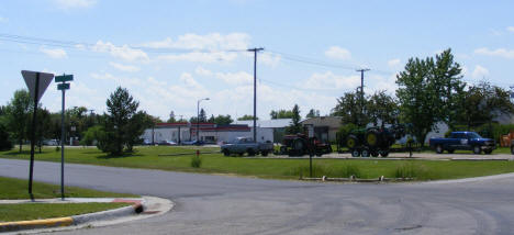 Street scene, Twin Valley Minnesota, 2008