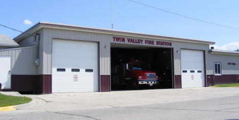 Twin Valley Fire Station, Twin Valley Minnesota, 2008