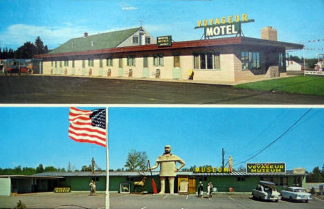 Voyageur Hotel & Museum, Two Harbors Minnesota, 1960's