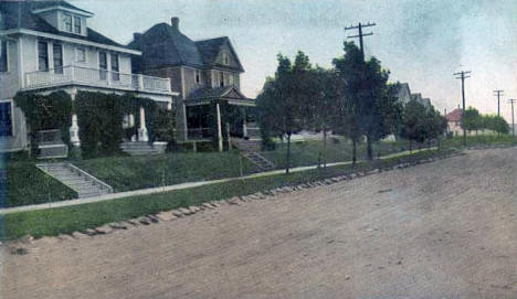 Third Avenue, Two Harbors Minnesota, 1910's