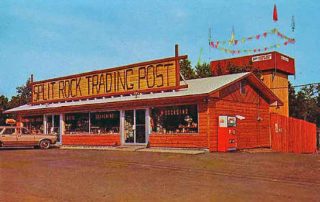 Split Rock Trading Post, Two Harbors Minnesota,1970's?
