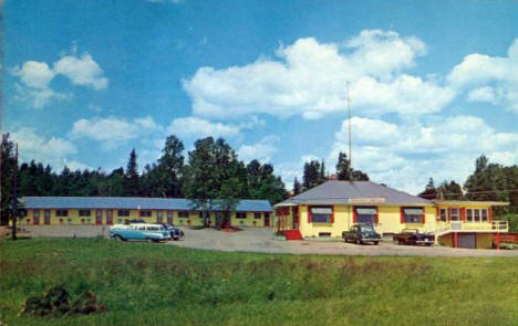 House of Sweden Motel, Restaurant and Gift Shop, Two Harbors MN, 1950's