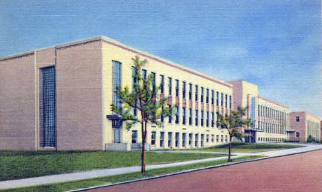 Lake County High School, Two Harbors Minnesota, 1940's?