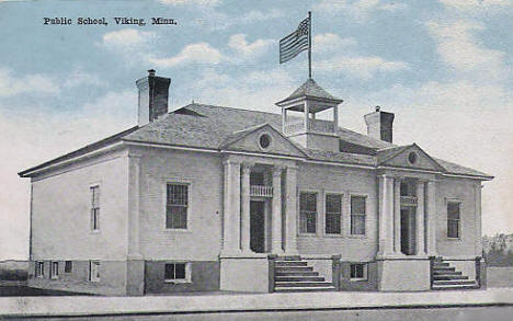 Public School, Viking Minnesota, 1916