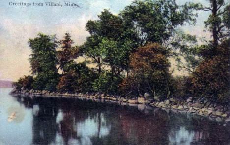 Greetings from  Villard Minnesota, 1911