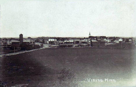 General view, Vining Minnesota, 1909