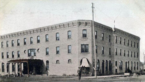 The Fay Hotel, Virginia Minnesota, 1907