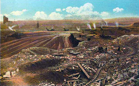 Missabe Mountain Mine, Virginia Minnesota, 1920