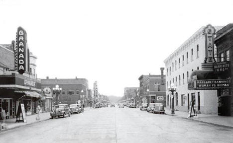 Main Street, Virginia Minnesota, 1950