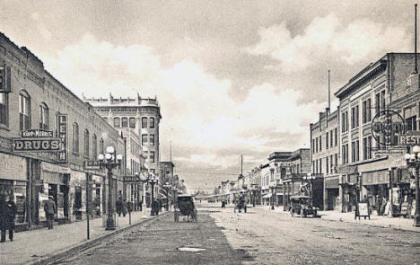 Chestnut Street, Virginia, Minnesota, 1912