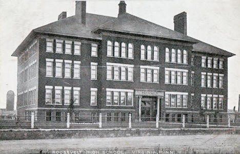 Roosevelt High School, Virginia Minnesota, 1909