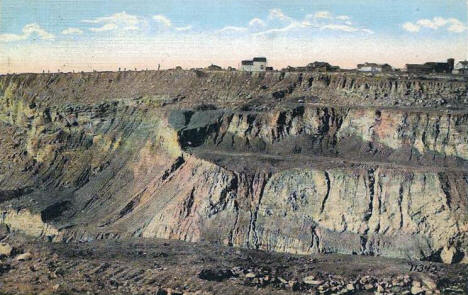 Norman Mine, Virginia Minnesota, 1925