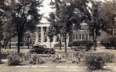 Roosevelt High School, Virginia Minnesota, 1938