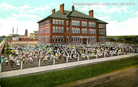 Roosevelt High School, Virginia Minnesota, 1910