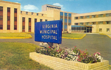 Virginia Municipal Hospital, Virginia Minnesota, 1971