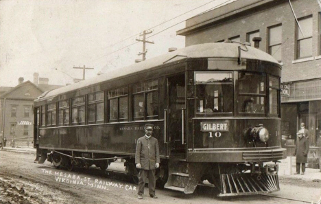 The Mesaba Street Railway, Virginia Minnesota, 1914