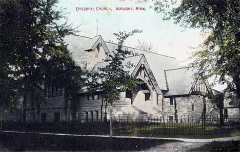 Episcopal Church, Wabasha Minnesota, 1909