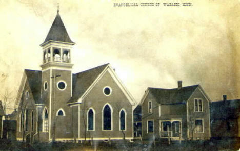 Evangelical Church of Wabasso Minnesota, 1909
