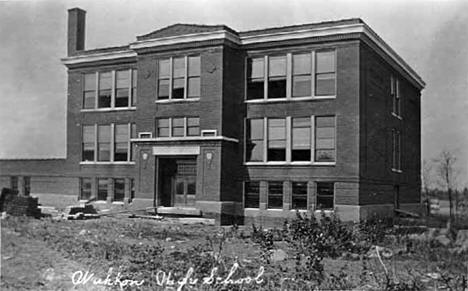 High School, Wahkon Minnesota, 1910