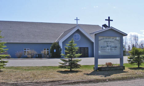 Sacred Heart Catholic Church, Wahkon Minnesota, 2009
