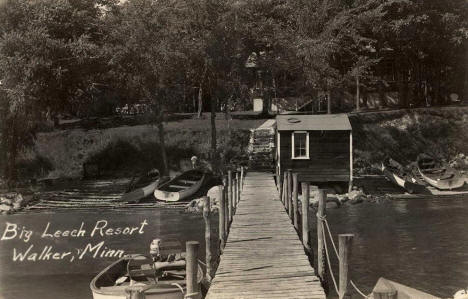 Big Leech Resort, Walker Minnesota, 1948