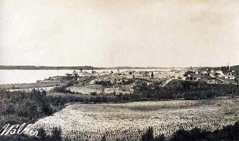 General view, Walker Minnesota, 1909