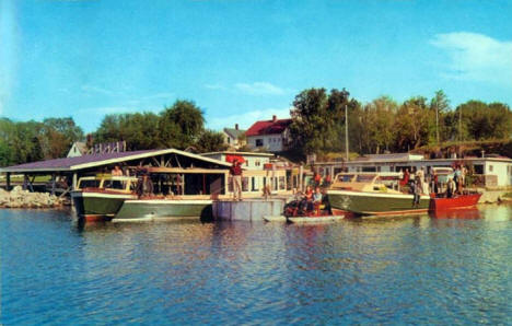 Jim Groth's Walker Boat Service, Walker Minnesota, 1963