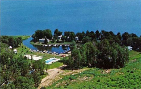 Big Rock Resort, Walker Minnesota, 1960's