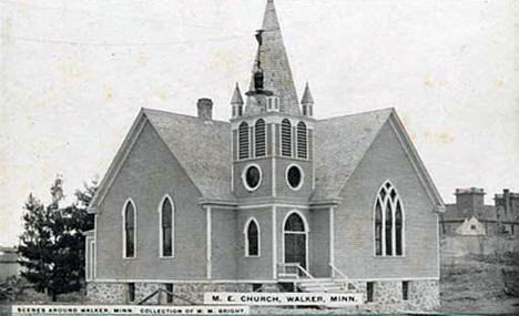 Methodist Episcopal Church, Walker Minnesota, 1910