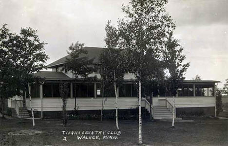 Tianna Country Club, Walker Minnesota, 1925