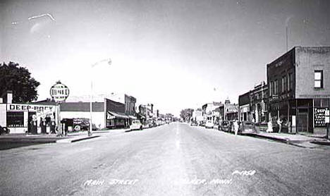 Main Street, Walker Minnesota, 1950