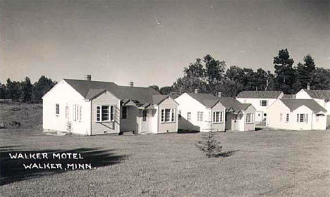 Walker Motel, Walker Minnesota, 1955