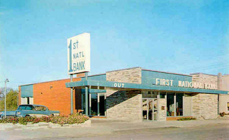 First National Bank of Walker Minnesota, 1960's