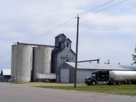 Grain elevators, Walters Minnesota, 2014