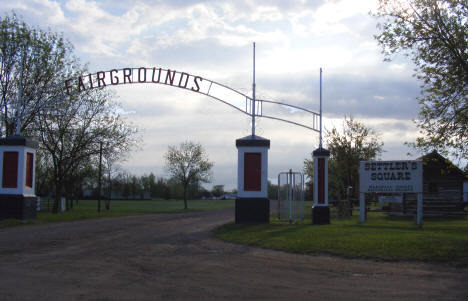 Marshall County Fairgrounds and Settler's Square, Warren Minnesota, 2008