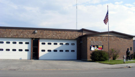 Warren Volunteer Fire Department, Warren Minnesota, 2008