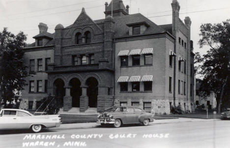 Marshall County Court House, Warren Minnesota, 1950's