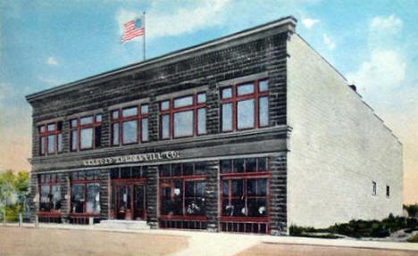 Warroad Mercantile Company, Warroad Minnesota, 1920's?