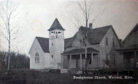 Presbyterian Church, Warroad Minnesota, 1910's?