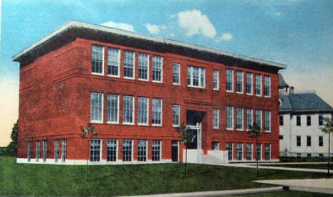 Public School, Warroad Minnesota, 1920's?
