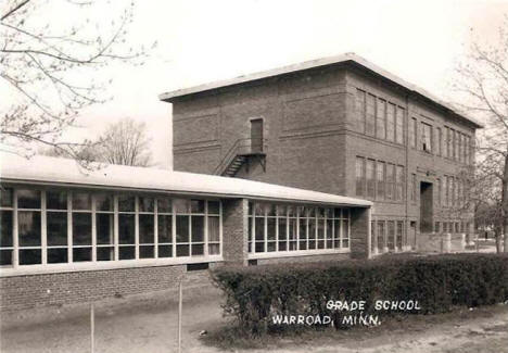 Grade School, Warroad Minnesota, 1950's