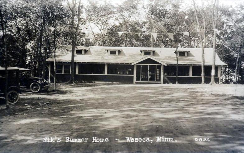 Elku0027s Summer Home, Waseca Minnesota, 1920u0027s
