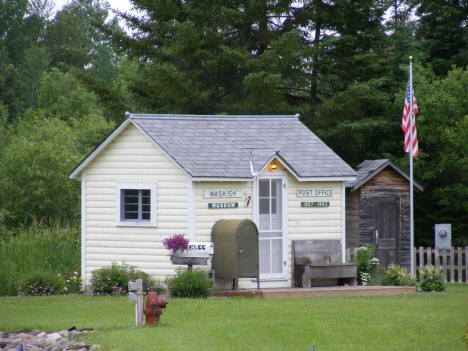 Former Post Office, now a museum, Waskish Minnesota, 2009