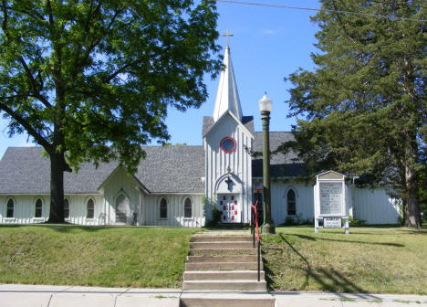 St. Andrew's Episcopal Church, Waterville Minnesota, 2010