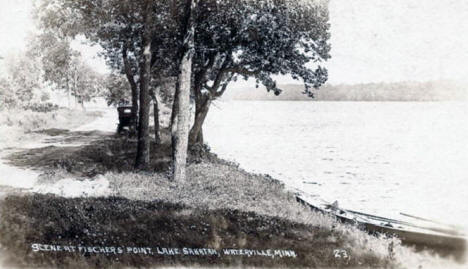 Fischers Point, Lake Sakatah, Waterville Minnesota, 1911