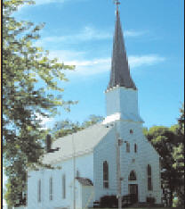St. Peter's Lutheran Church, Waterville Minnesota