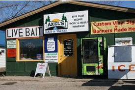 Axel's Tackle Box, Waterville Minnesota