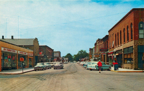 Main Street, Waterville Minnesota, 1957